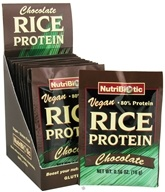 Nutribiotic - Vegan Rice Protein Chocolate - 12 Packet(s) - $12.22