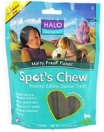 Halo Purely for Pets - Spots's Chew Natural Edible Dental Treat For Dogs Minty Fresh Flavor - 7.6 oz., from category: Pet Care
