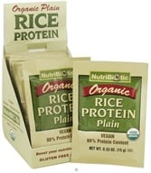 Nutribiotic - Organic Rice Protein Plain - 12 Packet(s) - $12.82