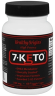 Healthy Origins - 7-Keto 100 mg. - 60 Vegetarian Capsules (603573728762)