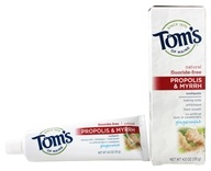 Image of Tom's of Maine - Natural Toothpaste Propolis & Myrrh Fluoride-Free Gingermint - 4 oz.