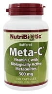 Image of Nutribiotic - Meta-C Buffered Vitamin C with Biologically Active Metabolites 500 mg. - 100 Capsules