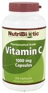 Nutribiotic - Vitamin C Pharmaceutical Grade 1000 mg. - 250 Capsules