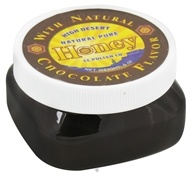Image of CC Pollen - High Desert Natural Pure Honey With Natural Chocolate Flavor - 6 oz.