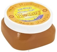 CC Pollen - High Desert Natural Pure Honey With Natural Peach Flavor - 6 oz.