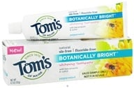 Tom's of Maine - Natural Toothpaste Botanically Bright Whitening Fluoride-Free SLS-Free Peppermint - 4.7 oz. (077326832134)