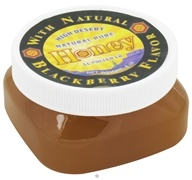 Image of CC Pollen - High Desert Natural Pure Honey With Natural Blackberry Flavor - 6 oz.