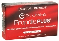 Essential Formulas - Dr. Ohhira's Propolis Plus - 30 Capsules, from category: Nutritional Supplements