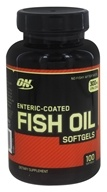 Optimum Nutrition - Enteric-Coated Fish Oil - 100 Softgels