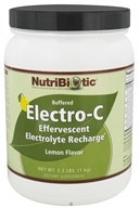 Nutribiotic - Electro-C Buffered Effervescent Electrolyte Recharge Lemon - 2.2 lbs. by Nutribiotic