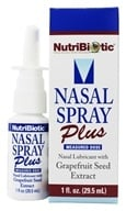 Image of Nutribiotic - Nasal Spray Plus with Grapefruit Seed Extract - 1 oz.
