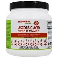Nutribiotic - Ascorbic Acid Crystalline Powder 100% Pure Vitamin C 2500 mg. - 2.2 lbs. by Nutribiotic