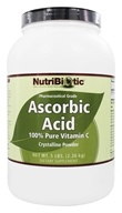 Nutribiotic - Ascorbic Acid Crystalline Powder 100% Pure Vitamin C 2500 mg. - 5 lbs. by Nutribiotic