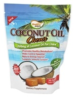 Image of Healthy Natural Systems - Healthy Delights Coconut Oil Chews 500 mg. - 30 Soft Chews