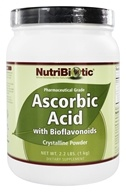 Nutribiotic - Ascorbic Acid Crystalline Powder with Antioxidant Bioflavonoids - 2.2 lbs. by Nutribiotic