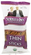 Image of Newman's Own Organics - Organic Pretzel Thin Sticks - 7 oz.