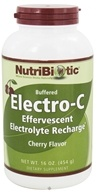 Image of Nutribiotic - Electro-C Buffered Effervescent Electrolyte Recharge Cherry - 16 oz.