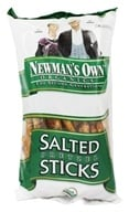 Newman's Own Organics - Organic Pretzel Salted Sticks - 8 oz. by Newman's Own Organics