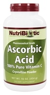 Nutribiotic - Ascorbic Acid Crystalline Powder 100% Pure Vitamin C 2500 mg. - 16 oz. (728177002015)