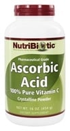 Nutribiotic - Ascorbic Acid Crystalline Powder 100% Pure Vitamin C 2500 mg. - 16 oz., from category: Vitamins & Minerals