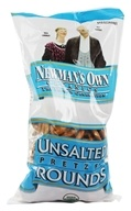 Image of Newman's Own Organics - Organic Pretzel Unsalted Rounds - 8 oz.