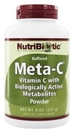 Nutribiotic - Meta-C Buffered Powder Vitamin C with Biologically Active Metabolites - 8 oz. (728177001902)