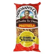 Image of Newman's Own Organics - Organic Pretzels High Protein - 7 oz.