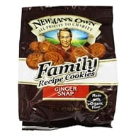 Newman's Own Organics - Organic Family Recipe Cookies Ginger Snap - 6.5 oz. DAILY DEAL (757645021289)