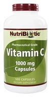 Nutribiotic - Vitamin C Pharmaceutical Grade 1000 mg. - 500 Capsules by Nutribiotic
