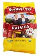 Newman's Own Organics - Organic California Raisins - 14 Box(s) .5 oz. Each