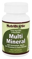 Nutribiotic - Multi Mineral with Germanium, Boron, GTF Chromium & Trace Minerals - 100 Capsules