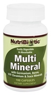 Image of Nutribiotic - Multi Mineral with Germanium, Boron, GTF Chromium & Trace Minerals - 100 Capsules