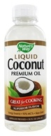 Nature's Way - Liquid Coconut Premium Oil - 10 oz.