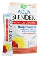 Image of Nature's Way - Aqua Slender Weight Loss Drink Mix Natural Lemon-Berry Flavor - 10 Packet(s)