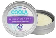 Coola Suncare - Hand Lotion Bar Lavendar Chamomile - 0.5 oz.