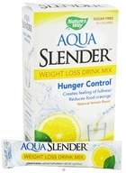 Nature's Way - Aqua Slender Weight Loss Drink Mix Natural Lemon Flavor - 10 Packet(s)