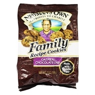 Image of Newman's Own Organics - Family Recipe Cookies Oatmeal Chocolate Chip - 7 oz.