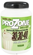 Nutribiotic - ProZone Vegan Nutritionally Balanced Drink Mix with Rice Protein Vanilla Bean - 22.5 oz.