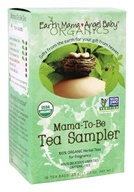Earth Mama Angel Baby - Mama-To-Be Tea Sampler Caffeine Free - 16 Tea Bags