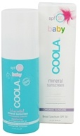 Coola Suncare - Mineral Baby Organic Sunscreen Unscented 50 SPF - 3 oz.
