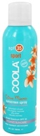 Coola Suncare - Sport Sunscreen Spray Citrus Mimosa 35 SPF - 6 oz. CLEARANCE PRICED - $17.78