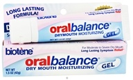 Biotene Dental - Oral Balance Dry Mouth Moisturizing Gel - 1.5 oz. by Biotene Dental