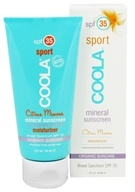 Coola Suncare - Mineral Sunscreen Sport Moisturizer Citrus Mimosa 35 SPF - 3 oz. CLEARANCE PRICED