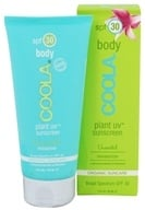 Coola Suncare - Plant UV Sunscreen Body Moisturizer Unscented 30 SPF - 3 oz. CLEARANCE PRICED by Coola Suncare