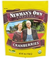 Newman's Own Organics - Organic Cranberries - 4 oz. by Newman's Own Organics