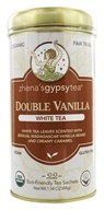 Zhena's Gypsy Tea - White Tea Double Vanilla - 22 Tea Bags (652790100318)