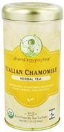 Zhena's Gypsy Tea - Herbal Tea Italian Chamomile - 22 Tea Bags (652790100363)
