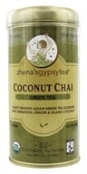 Image of Zhena's Gypsy Tea - Green Tea Coconut Chai - 22 Tea Bags