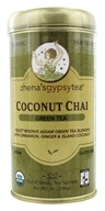 Zhena's Gypsy Tea - Green Tea Coconut Chai - 22 Tea Bags