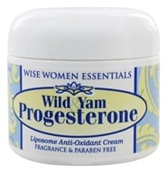 Wise Essentials - Wild Yam Progesterone Cream Fragrance Free - 2 oz. - $18.99